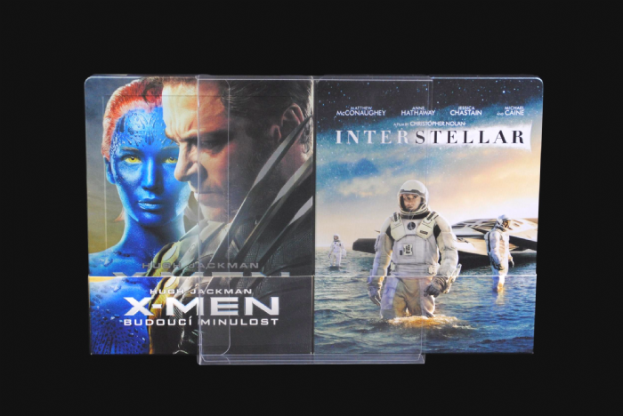 SC3 Blu-ray Steelbook Protective Slipcovers